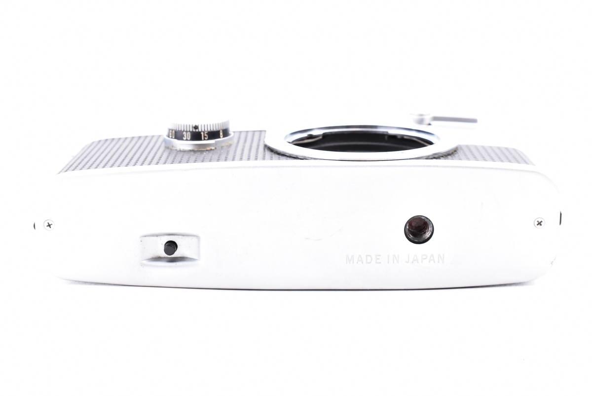 OLYMPUS オリンパス PEN-FV シルバー F.Zuiko Auto-S 38mm f/1.8 一眼レフ 35mm フィルムカメラ_画像4