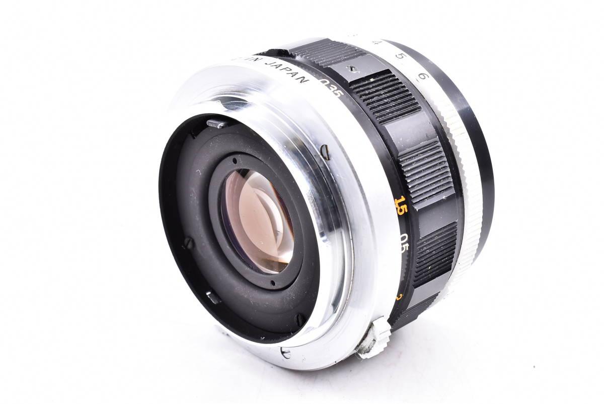 OLYMPUS オリンパス PEN-FV シルバー F.Zuiko Auto-S 38mm f/1.8 一眼レフ 35mm フィルムカメラ_画像9