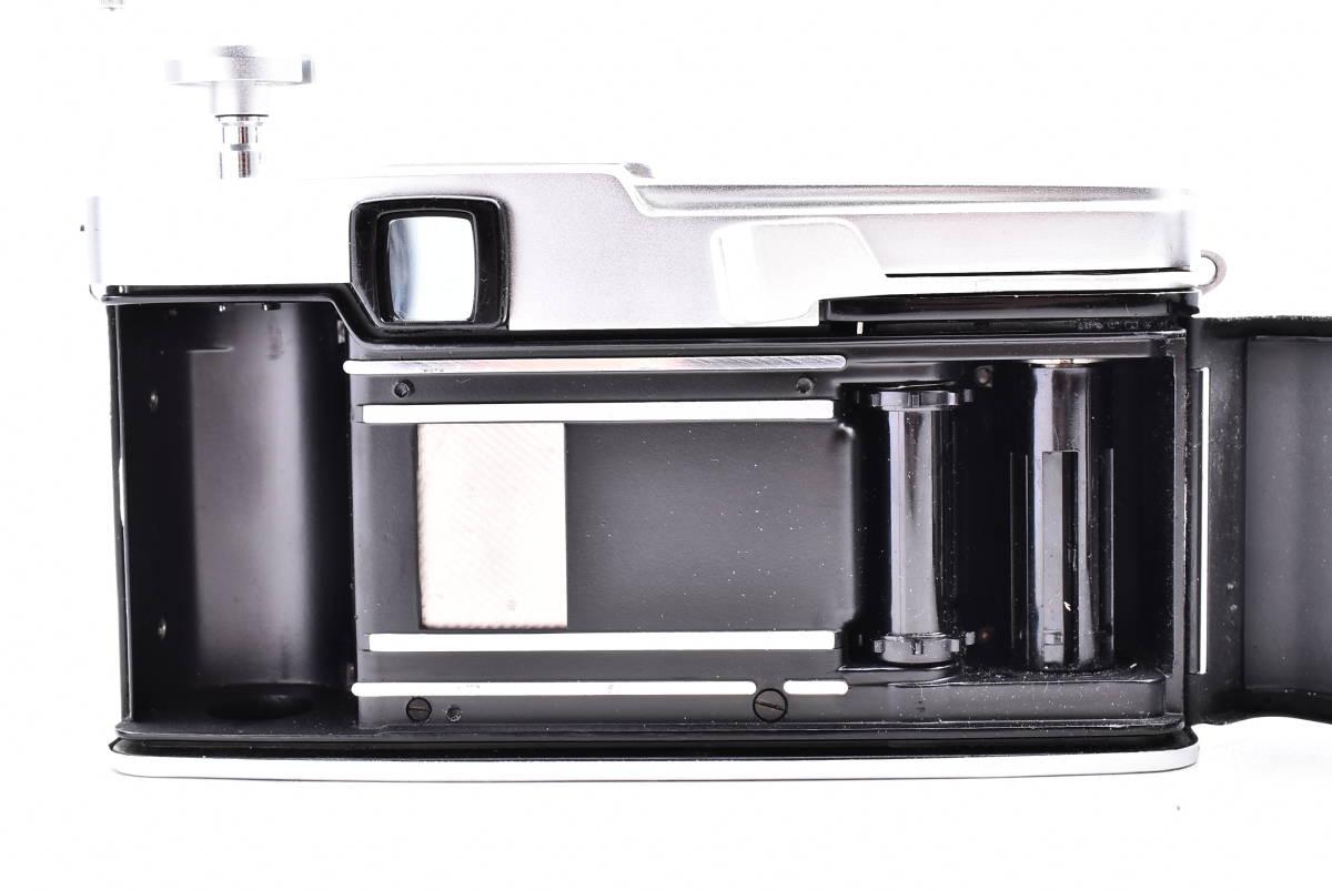 OLYMPUS オリンパス PEN-FV シルバー F.Zuiko Auto-S 38mm f/1.8 一眼レフ 35mm フィルムカメラ_画像6