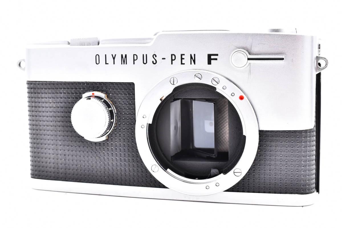 OLYMPUS オリンパス PEN-FV シルバー F.Zuiko Auto-S 38mm f/1.8 一眼レフ 35mm フィルムカメラ_画像2