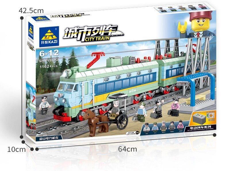LEGO互換 電気機関車_画像1