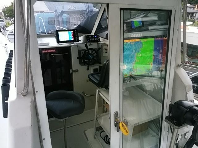 「ヤンマー FX26 船外機ホンダ200馬力新品付き 熊本SUマリン」の画像3