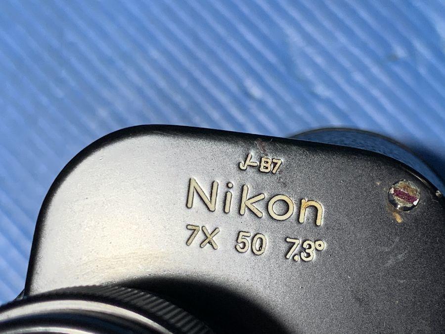 Nikon ニコン 双眼鏡 7x50 7.3° 中古ジャンク品_画像7