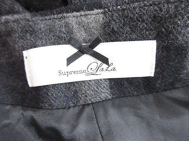 シュープリームララ Supreme.La.La. Supreme LaLa パンツ キュロット ショート チェック M 黒 ブラック /AAM レディース_画像6