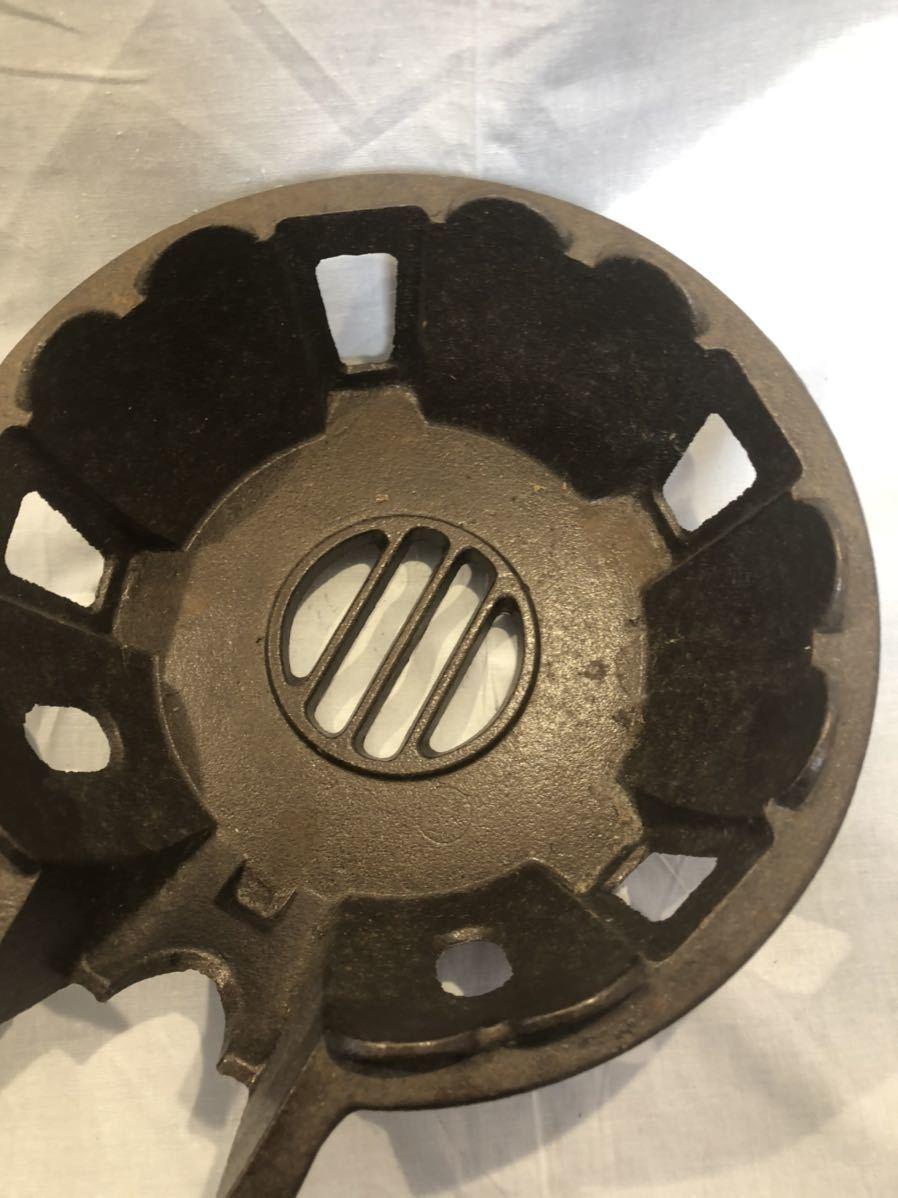 鋳物コンロ タチバナ製作所 TS-510 都市ガス 業務用 ジャンク扱い品 厨房機器 _画像3