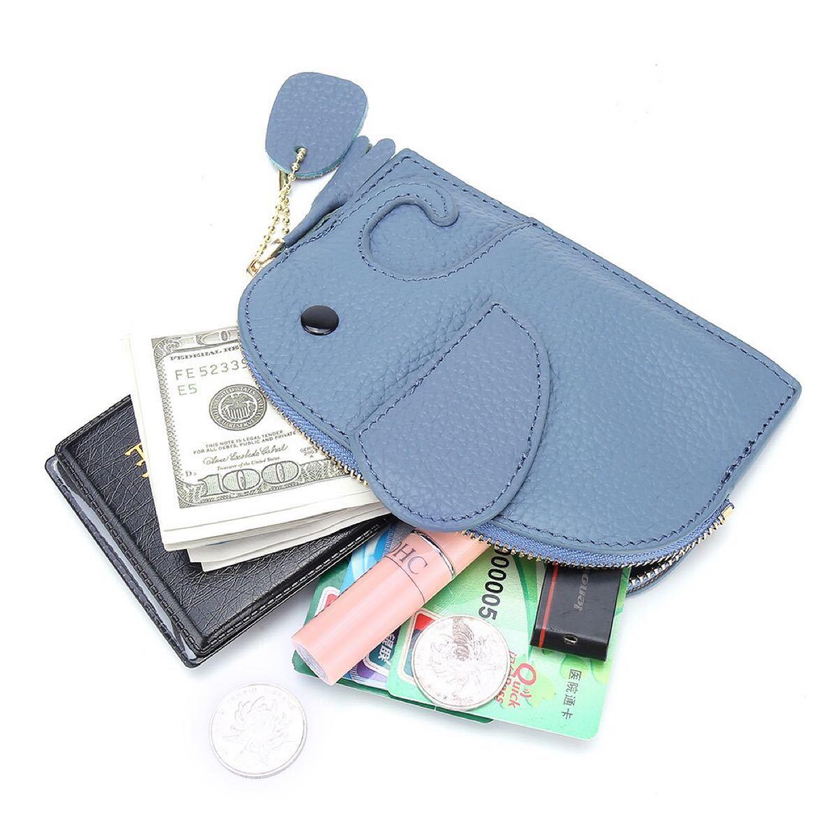 ミニ財布  高級本革 小銭入れ コインケース カードケース