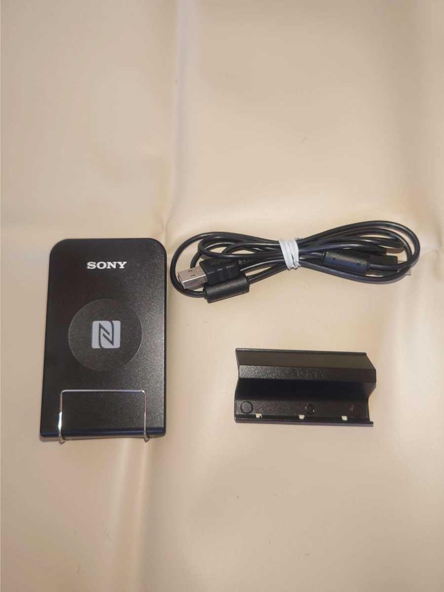 ★非接触型ICカードリーダー/ライター:SONY「RC-S380」★(PaSoRi、パソリ) n85パソリ 非接触ICカード ソニー FeliCa PaSoRi SONY