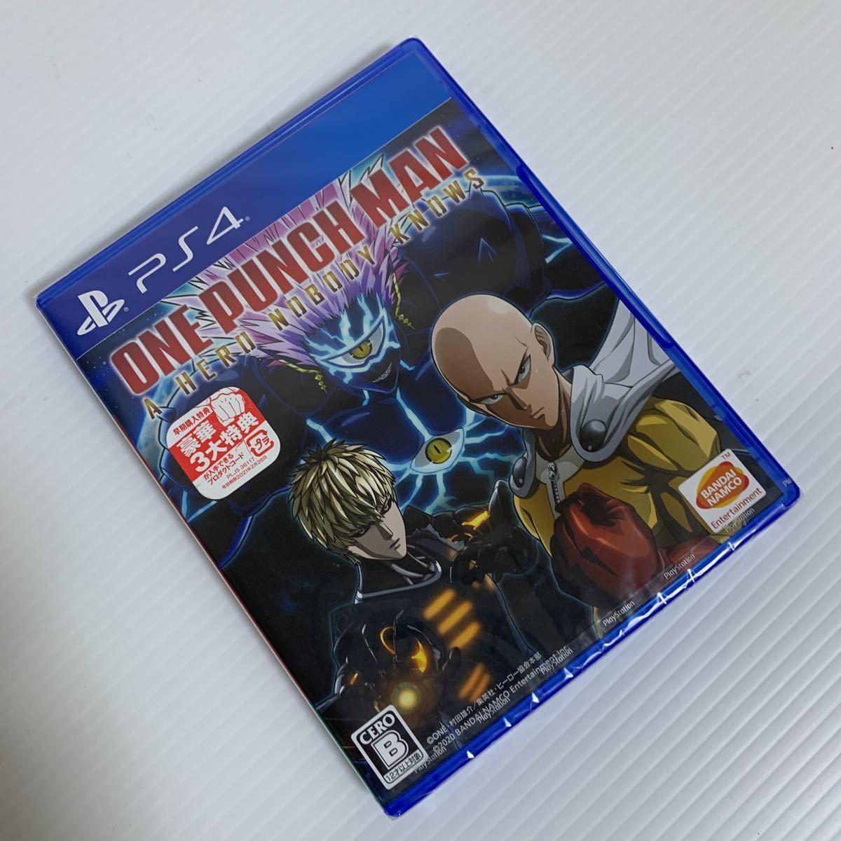 PS4 ONE PUNCH MAN A HERO NOBODY KNOWS 早期購入特典/豪華3大特典付