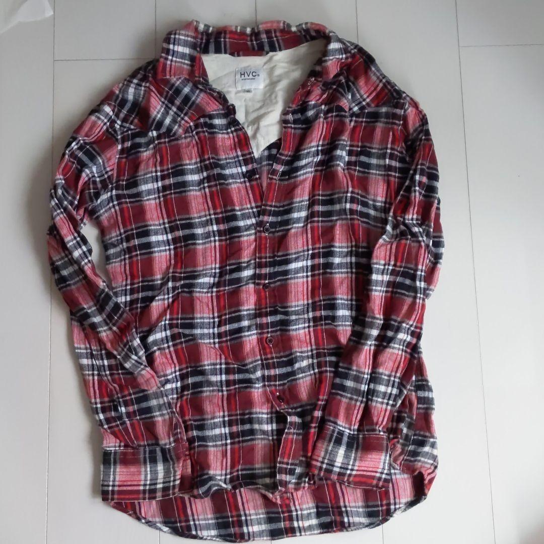 チェックシャツ ネルシャツ 長袖シャツ チェック柄