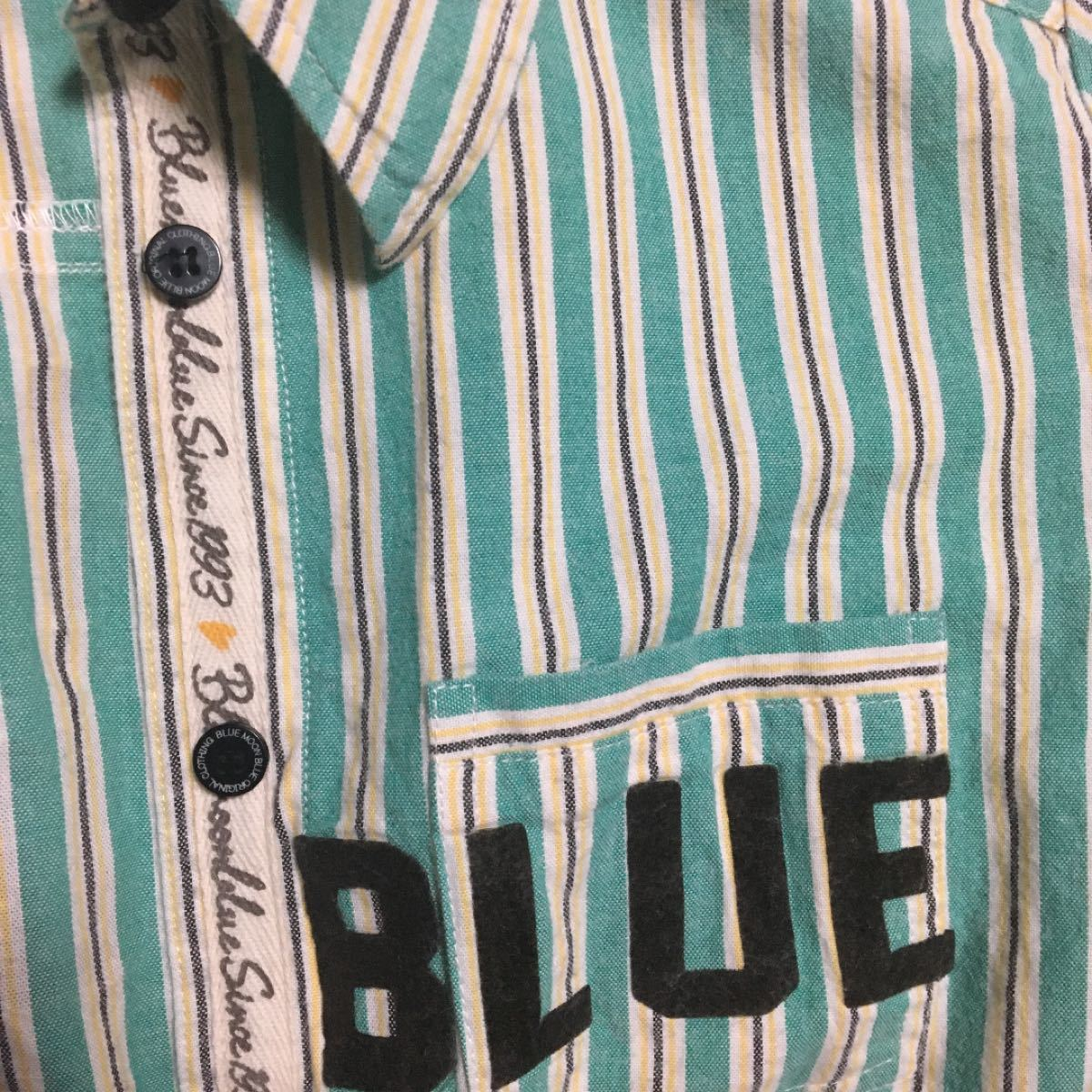 ブルームーンブルー シャツ