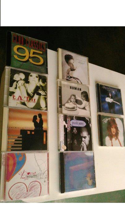 CD計10枚、Club Classics、t.A.T.u.、THE BEST OF ROCK、Shirley's、リチャード、T-スクエア、Heavy D、ペットショップ、YNGWIE、Tiffany
