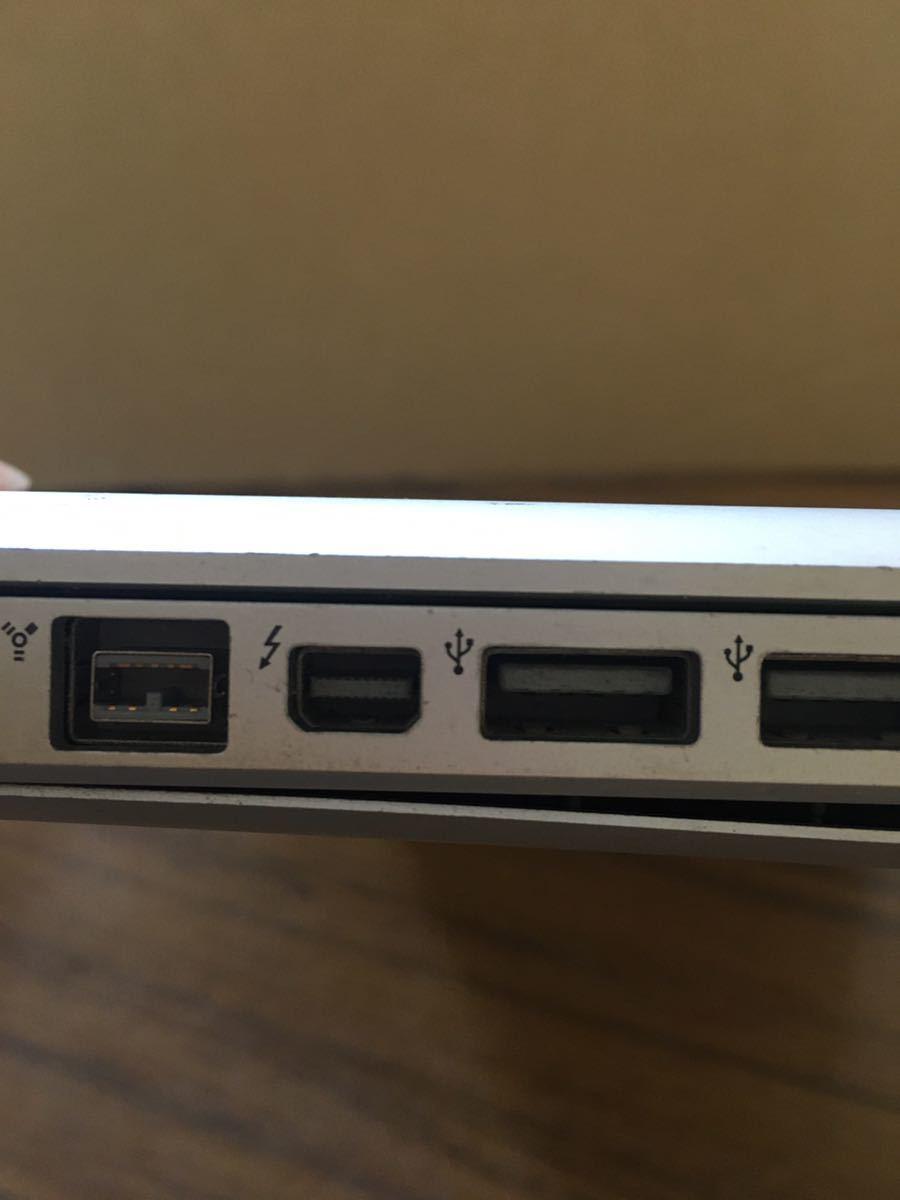 (x-40)Apple Macbook Pro A1286 15インチ Mid 2010メモリ、HDD無し ジャンク品_画像4