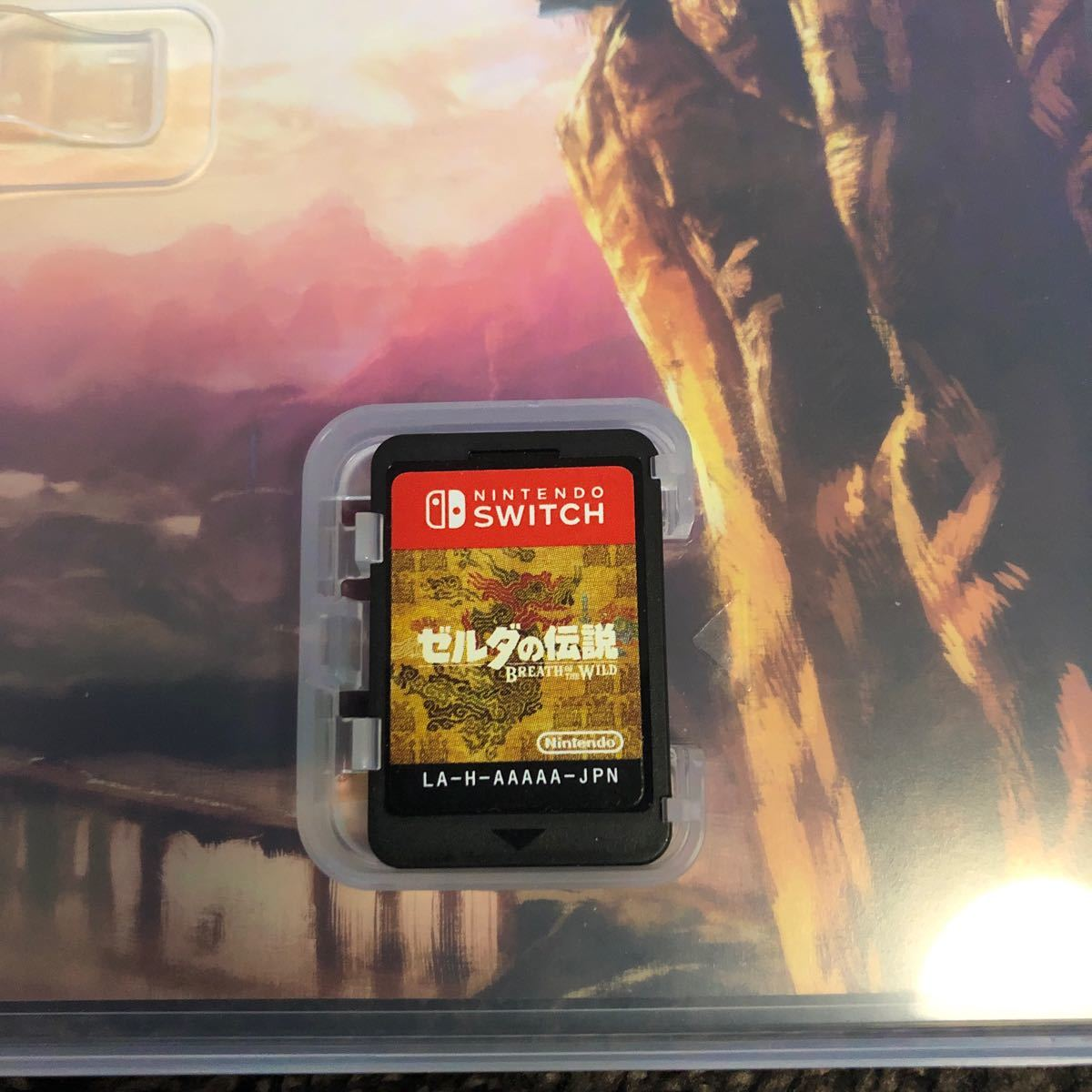中古【Switch】 ゼルダの伝説 ブレス オブ ザ ワイルド [通常版]