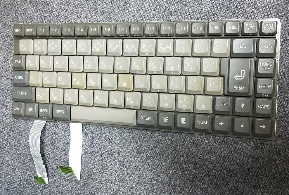 ノートパソコン日本語キーボード TWK4824-01 (JUNK・ジャンク)