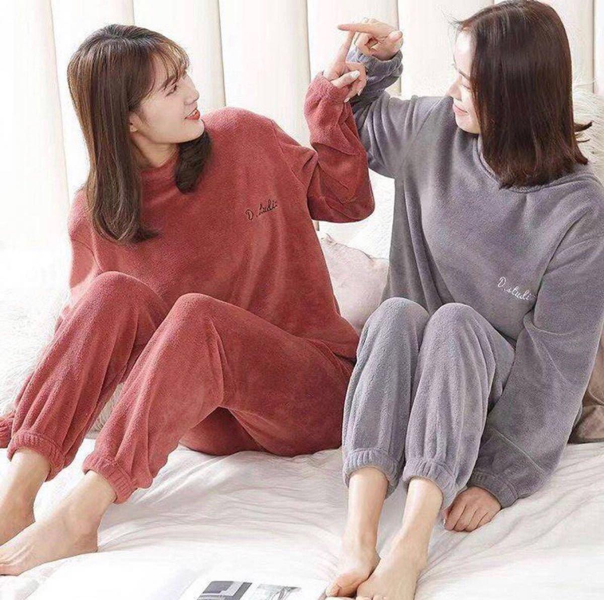 ルームウェア モコモコ レディース 上下セット 可愛い ふわもこ パジャマ