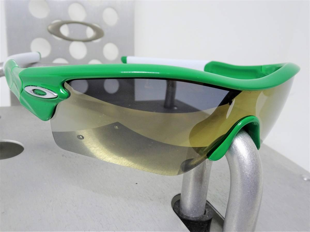 偏光 OAKLEY RADAR PATH レーダー パス オークリー サングラス アイウェア ゴルフ ロードバイク スノボ ボード 緑_画像3