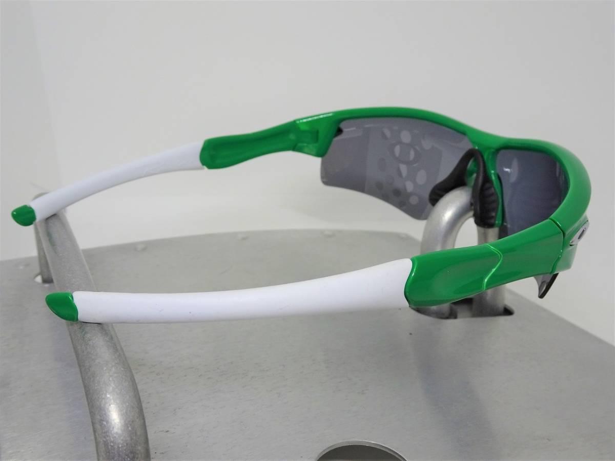 偏光 OAKLEY RADAR PATH レーダー パス オークリー サングラス アイウェア ゴルフ ロードバイク スノボ ボード 緑_画像5