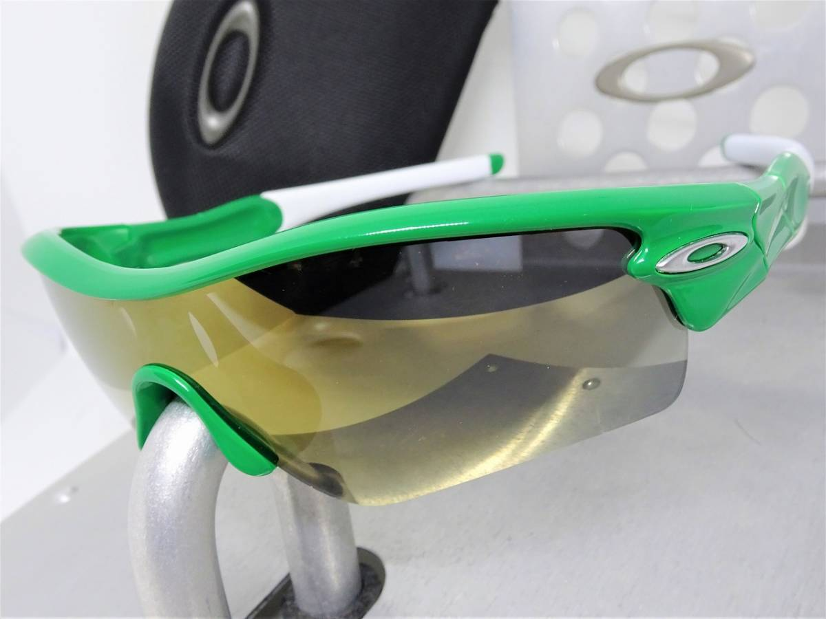 偏光 OAKLEY RADAR PATH レーダー パス オークリー サングラス アイウェア ゴルフ ロードバイク スノボ ボード 緑_画像1