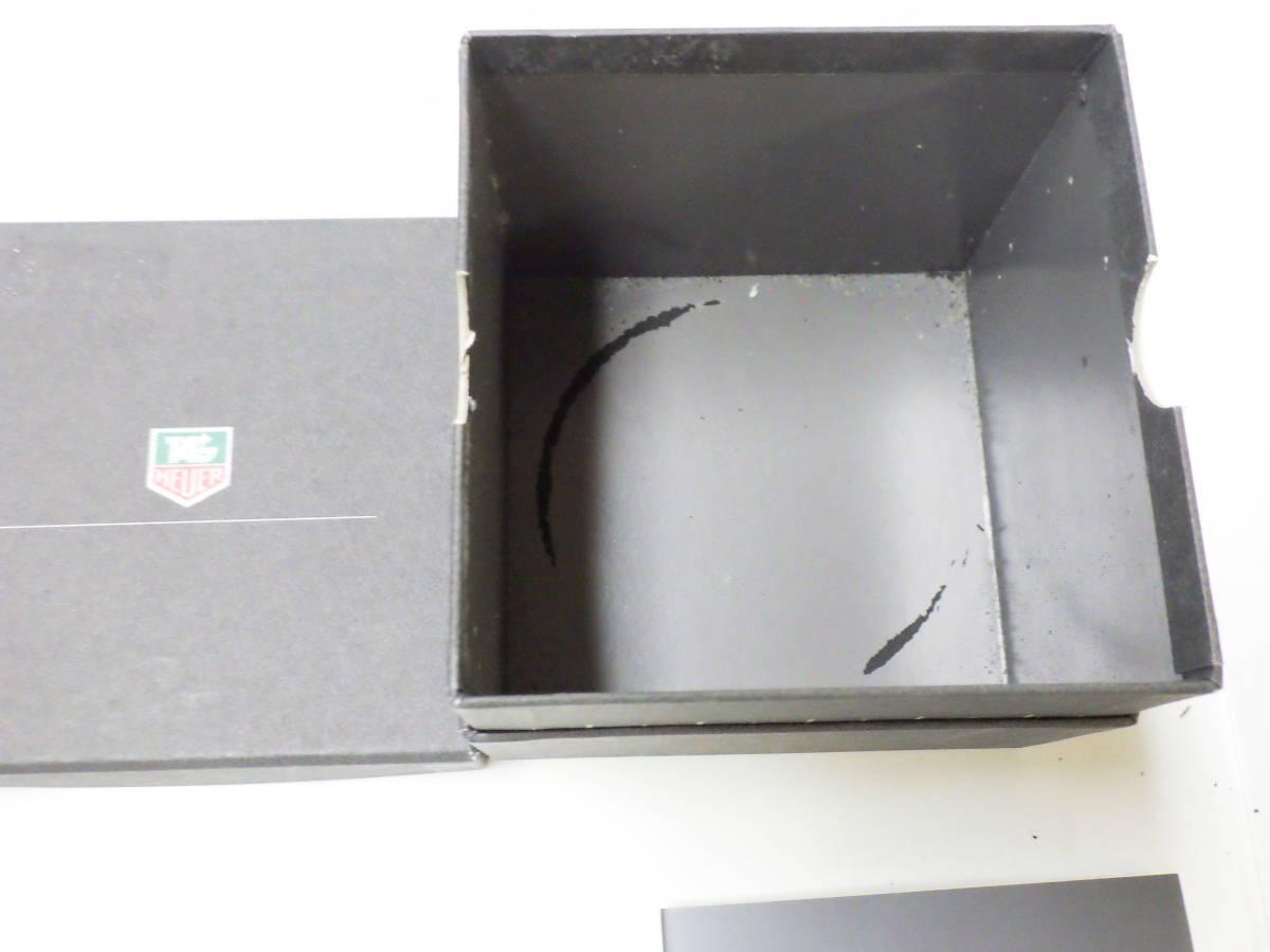 TAG HEUER タグホイヤー 難あり 時計ケース 箱 ボックス №2581_画像8