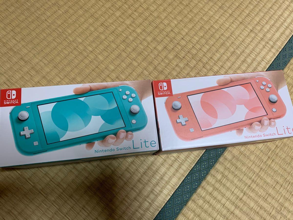 Nintendo Switchライト ネオンブルーピンク