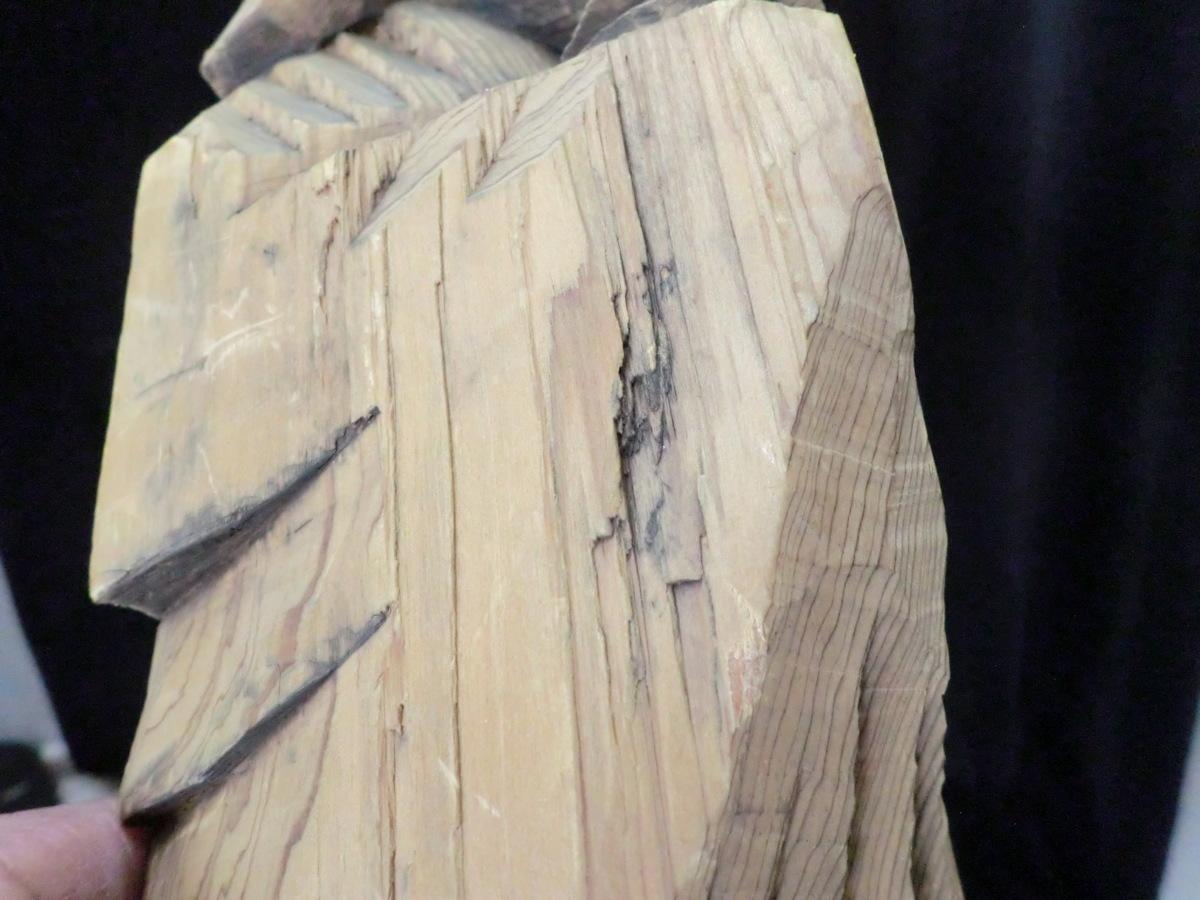 木彫り 一齋刀  △△_画像5