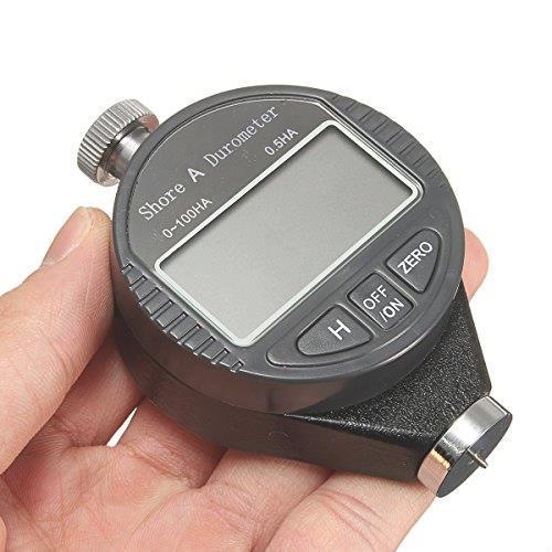 即決!送料無料! OBEST デジタル硬度計 A型 ゴムタイヤ硬度計 ゴム ガラス プラスチック 革 硬さ デジタルゲージ 測定工具_画像6