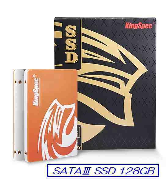 ☆彡 128GB SSD 2.5inch king spec製 ☆彡 未使用 SATA3 Solid State Drive あ1