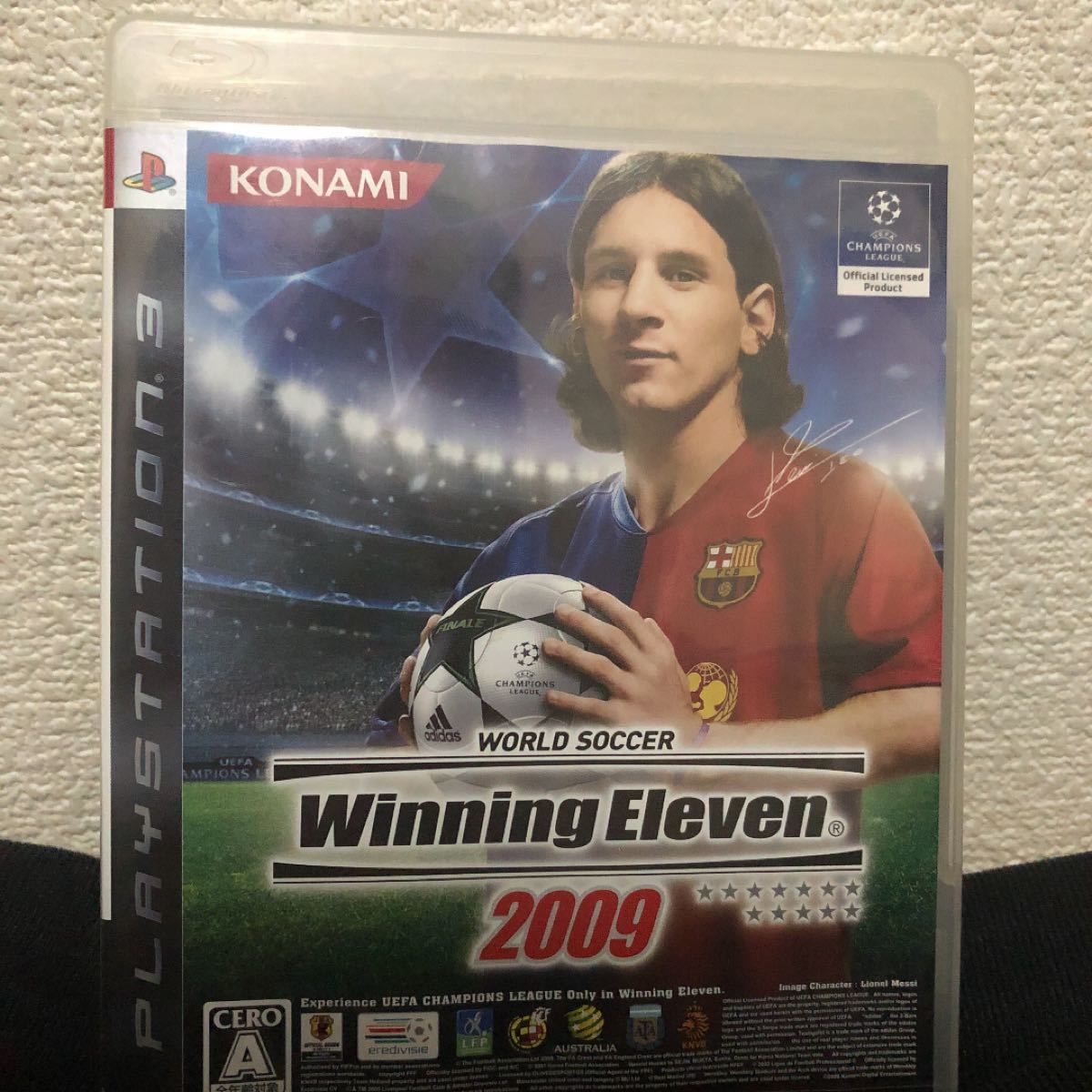 PS3ソフト ウィニングイレブン2009
