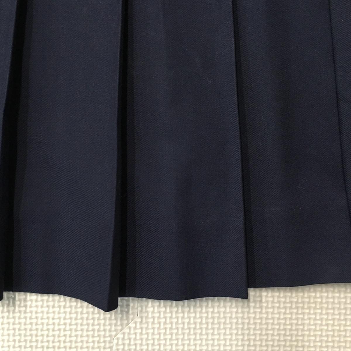 A287 (中古) 東京都 武蔵野女子学院高校 (旧制服) スカート ブラウス 2点セット /指定品/M/W64/長袖/冬用/制服/高校/女子学生/学生服/学生_画像5