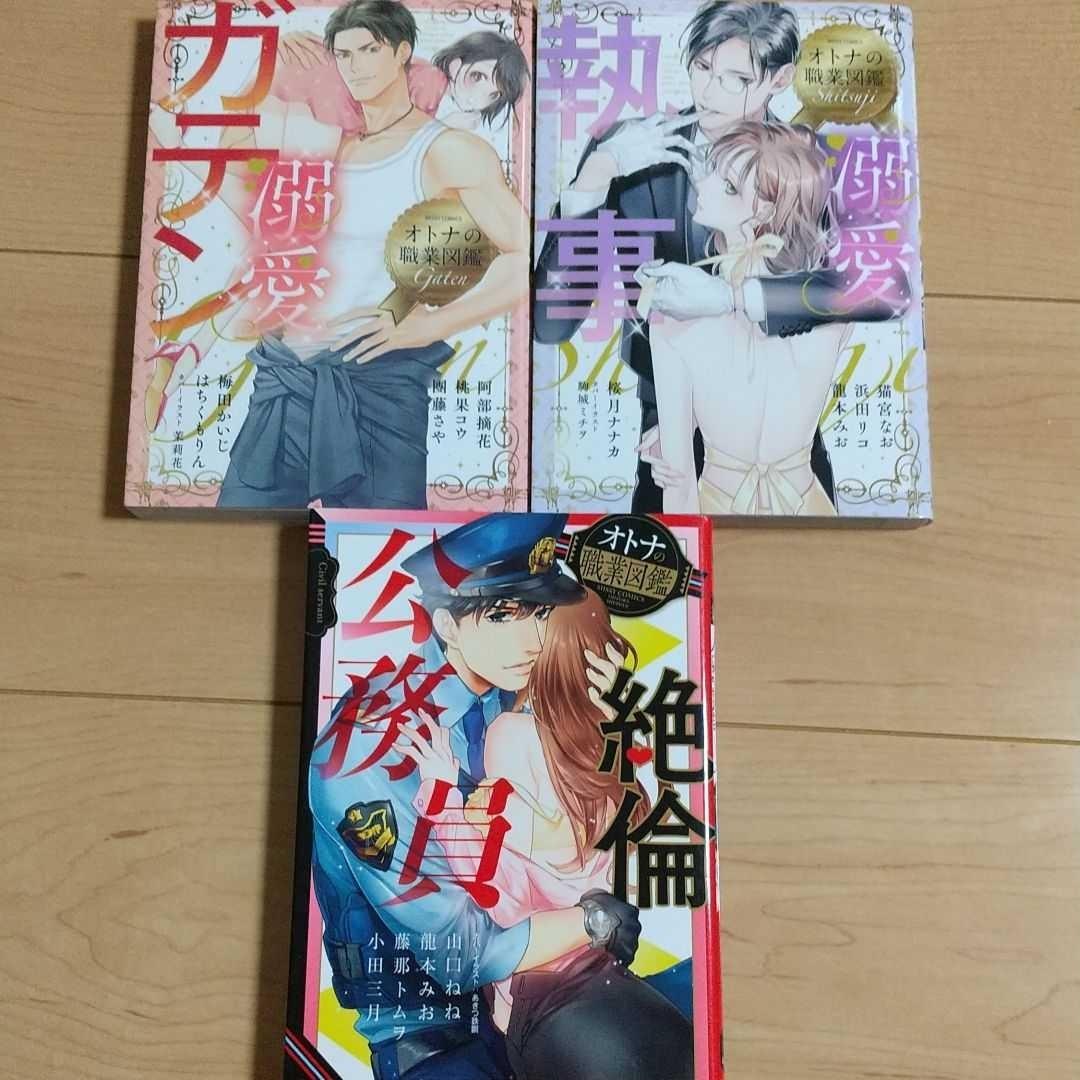 オトナの職業図鑑 ティーンズラブコミックス TLC オムニバス 漫画3冊セット