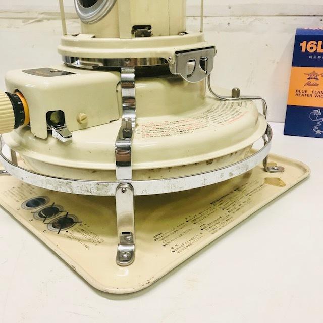 整備品 芯・マイカ交換◆アラジン ブルーフレーム 石油ストーブ 39型 J390001_画像7