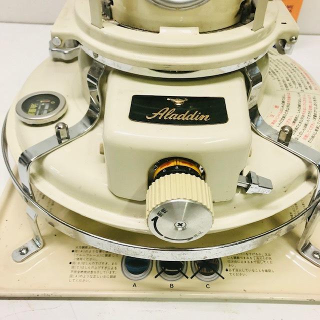 整備品 芯・マイカ交換◆アラジン ブルーフレーム 石油ストーブ 39型 J390001_画像3