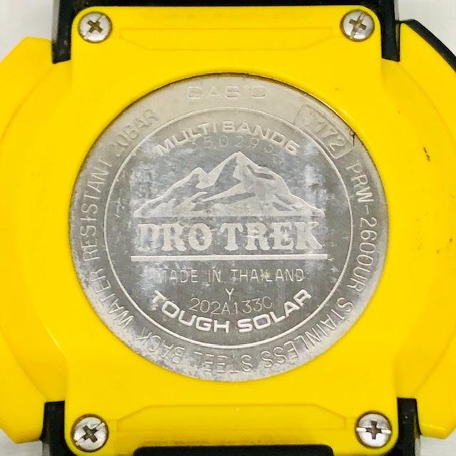 カシオ CASIO プロトレック PRO TREK PRW-2600UR-1JR USARAコラボレーションモデル ソーラー電波_画像6