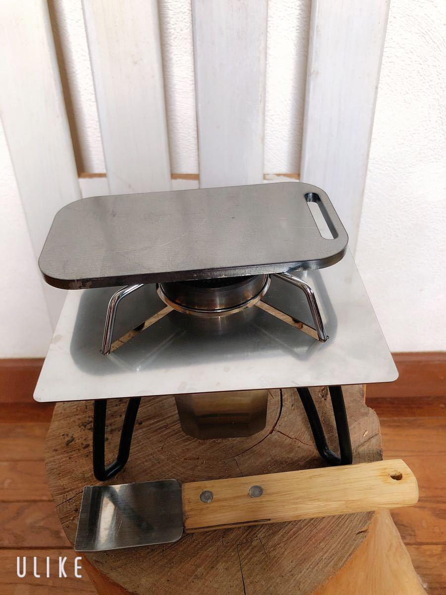 トランギア スモール メスティン 鉄板 6ミリ ミリキャンプ 黒皮鉄板
