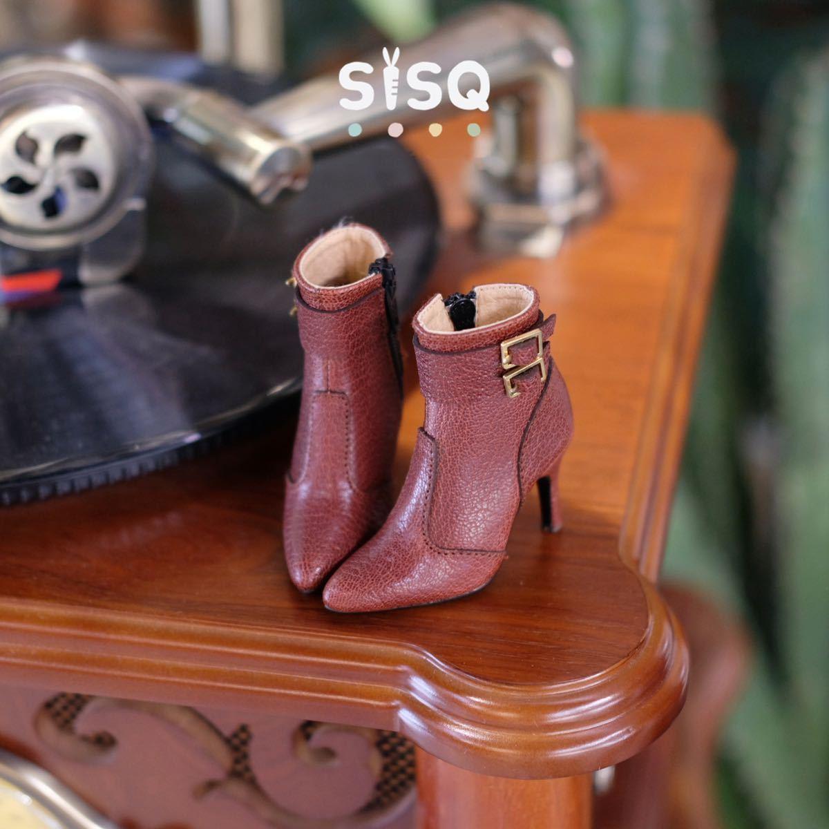 BJDドール用靴 ハイヒール SD/DDサイズ通用 全4色 本革 高品質 球体関節人形 doll_画像4