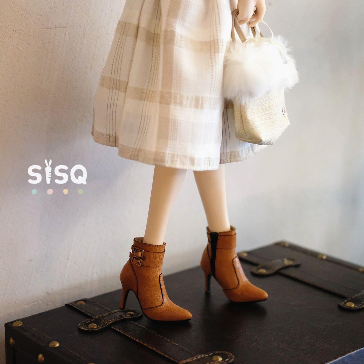 BJDドール用靴 ハイヒール SD/DDサイズ通用 全4色 本革 高品質 球体関節人形 doll_画像1
