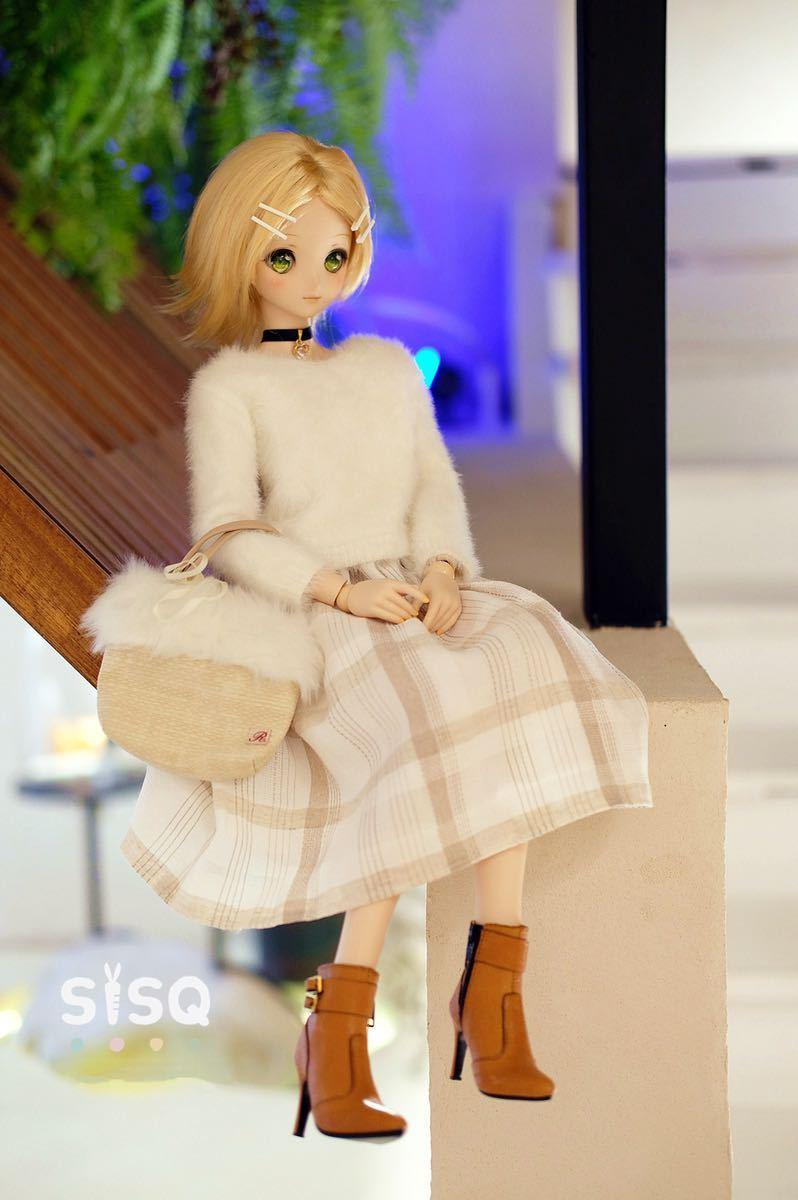 BJDドール用靴 ハイヒール SD/DDサイズ通用 全4色 本革 高品質 球体関節人形 doll_画像10