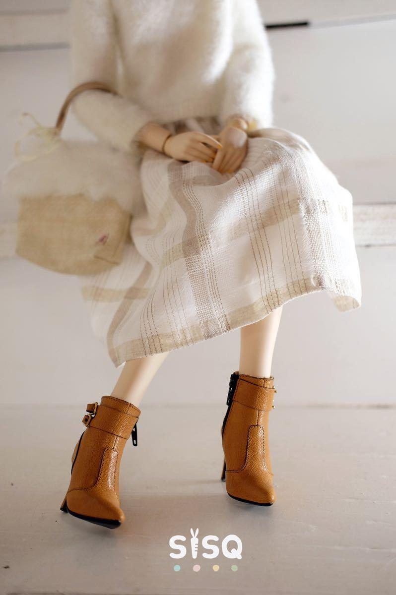 BJDドール用靴 ハイヒール SD/DDサイズ通用 全4色 本革 高品質 球体関節人形 doll_画像9
