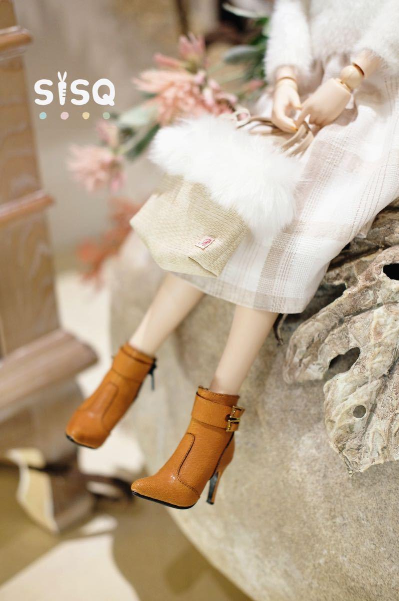 BJDドール用靴 ハイヒール SD/DDサイズ通用 全4色 本革 高品質 球体関節人形 doll_画像8
