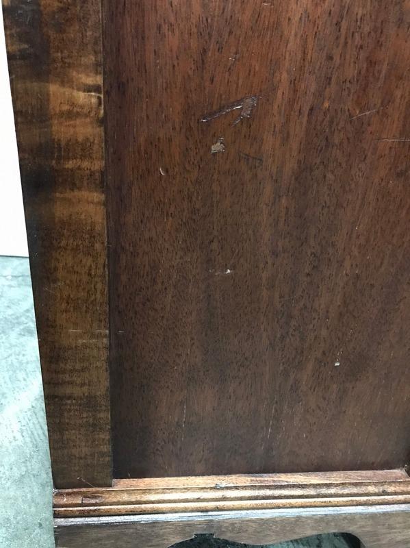 【米軍放出品】DREXEL/ドレクセルヘリテイジ ナイトテーブル 木製 サイドテーブル 電話台☆EJ03OM_画像9