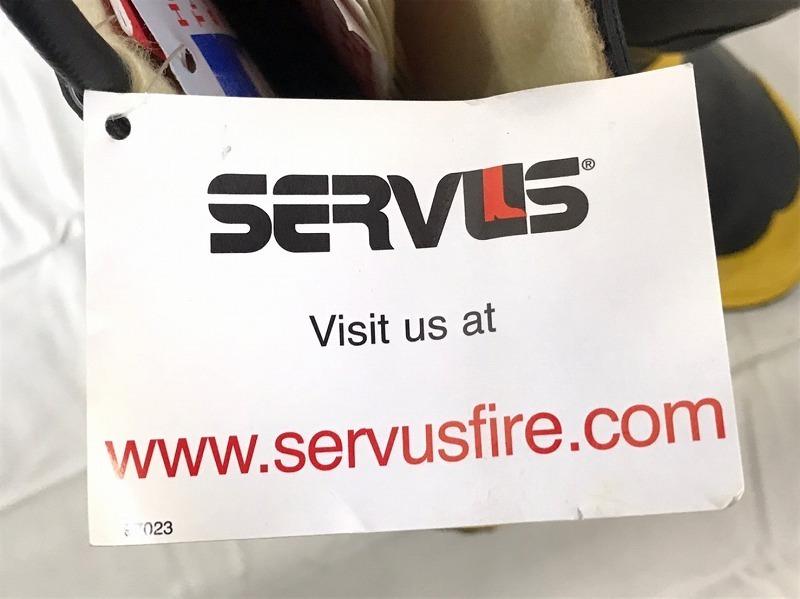【米軍放出品】SERVUS 消防士用ブーツ サイズ6W(24cm) 長靴 ファイヤーマンブーツ (100)☆BJ7CK-2_画像9