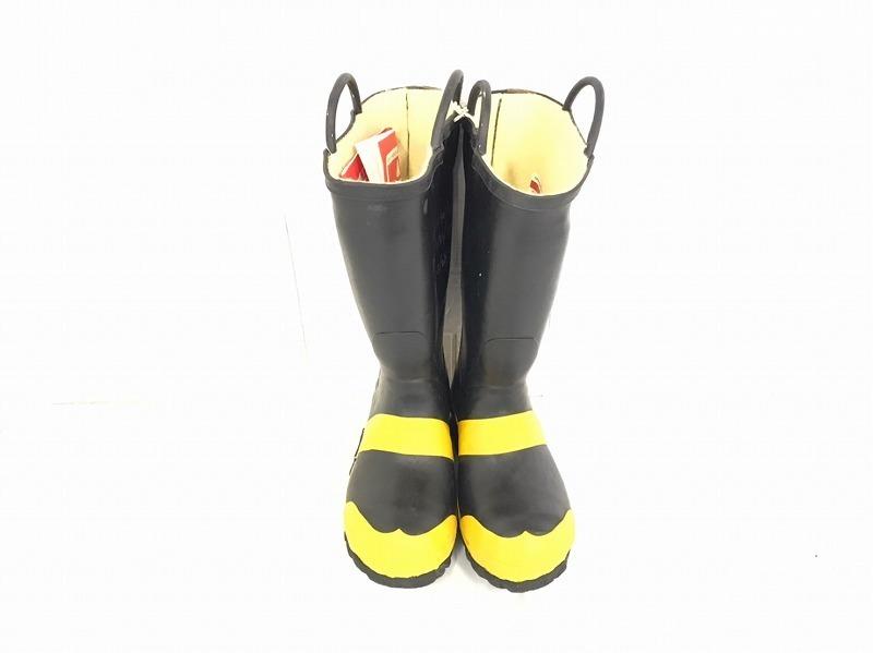 【米軍放出品】SERVUS 消防士用ブーツ サイズ6W(24cm) 長靴 ファイヤーマンブーツ (100)☆BJ7CK-2_画像2