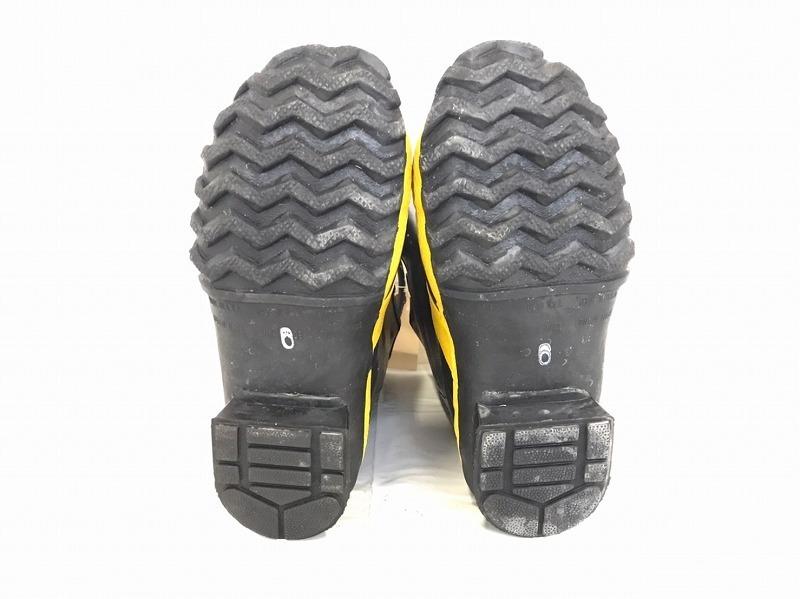 【米軍放出品】SERVUS 消防士用ブーツ サイズ6W(24cm) 長靴 ファイヤーマンブーツ (100)☆BJ7CK-2_画像6