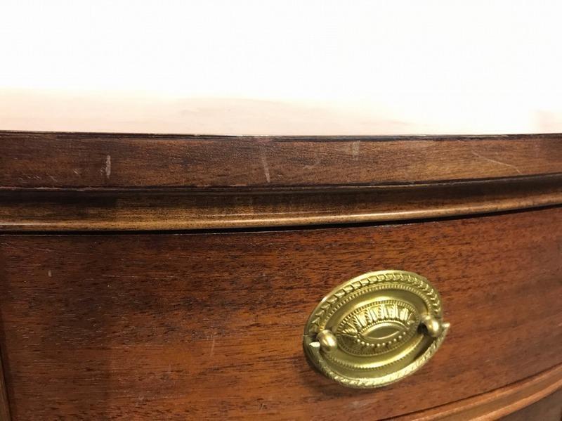 【米軍放出品】DREXEL/ドレクセルヘリテイジ ナイトテーブル 木製 サイドテーブル 電話台☆EJ03OM_画像4