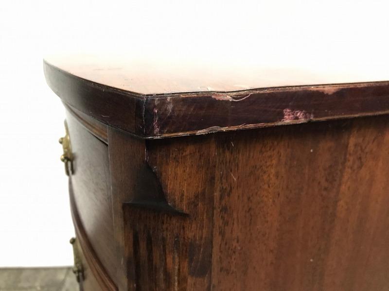 【米軍放出品】DREXEL/ドレクセルヘリテイジ ナイトテーブル 木製 サイドテーブル 電話台☆EJ03OM_画像7