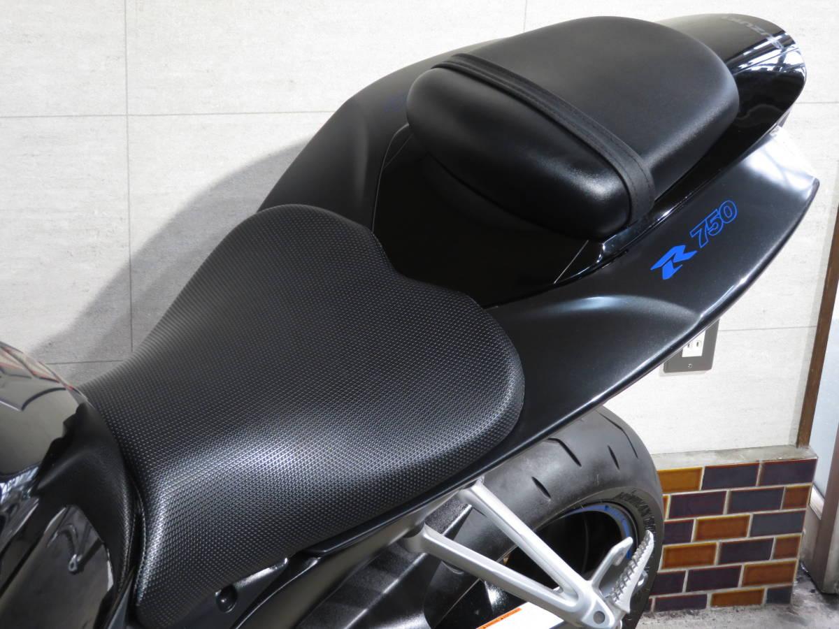 GSX-R750 K7 欧州統合仕様 ★動画★ 社外スリップオンマフラー/バックステップ装備 検R3年5月 2484_画像10