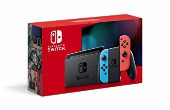 ネオンブルー/ネオンレッド 02) バッテリー持続時間が長くなったモデル Nintendo Switch 本体 (ニンテンドース_画像1