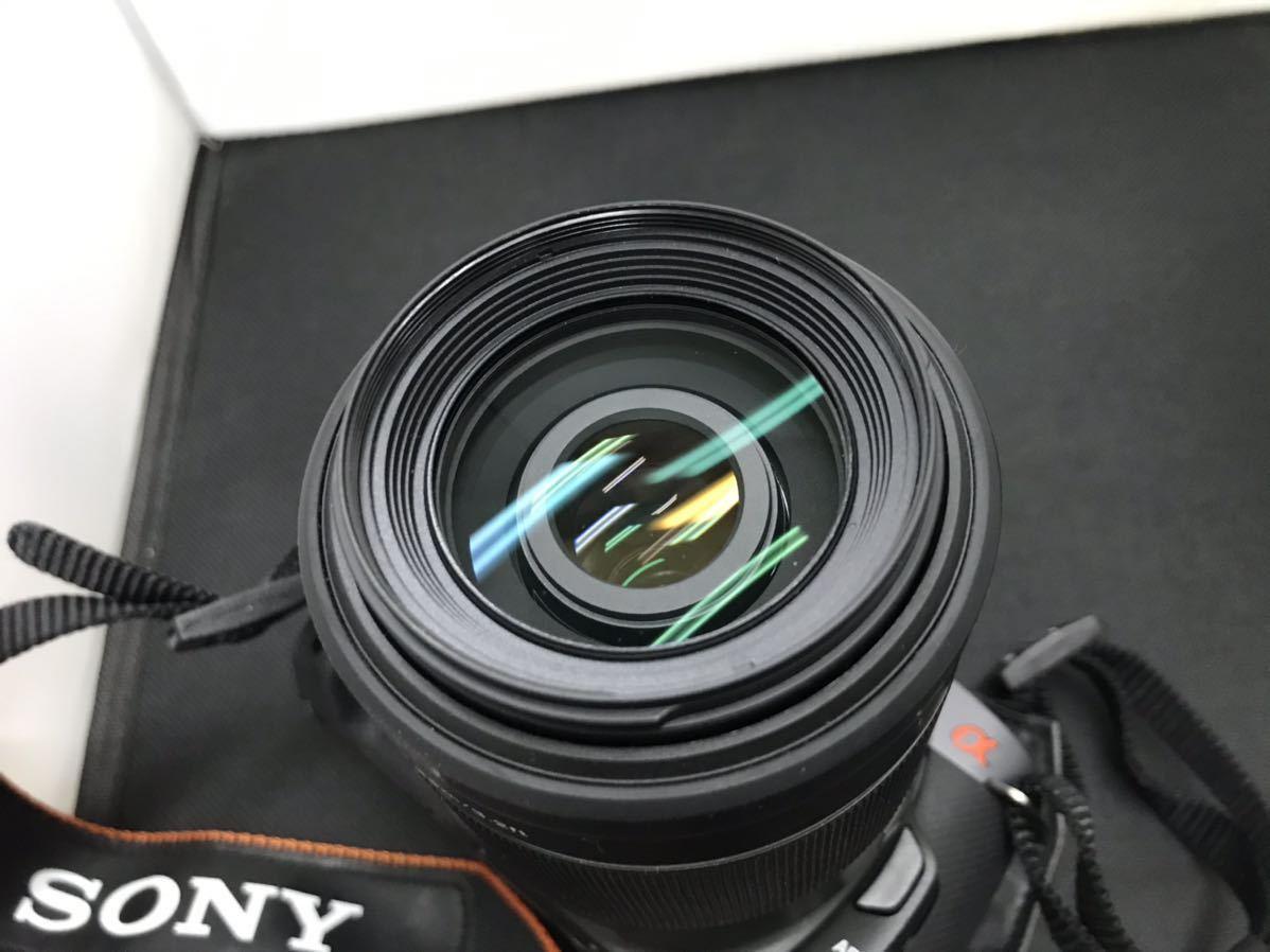 SONY ソニー デジタル一眼レフカメラ デジカメ DSLR-A330 レンズ付き ボディブラック 通電確認済み D847394-Y079#A226_画像3