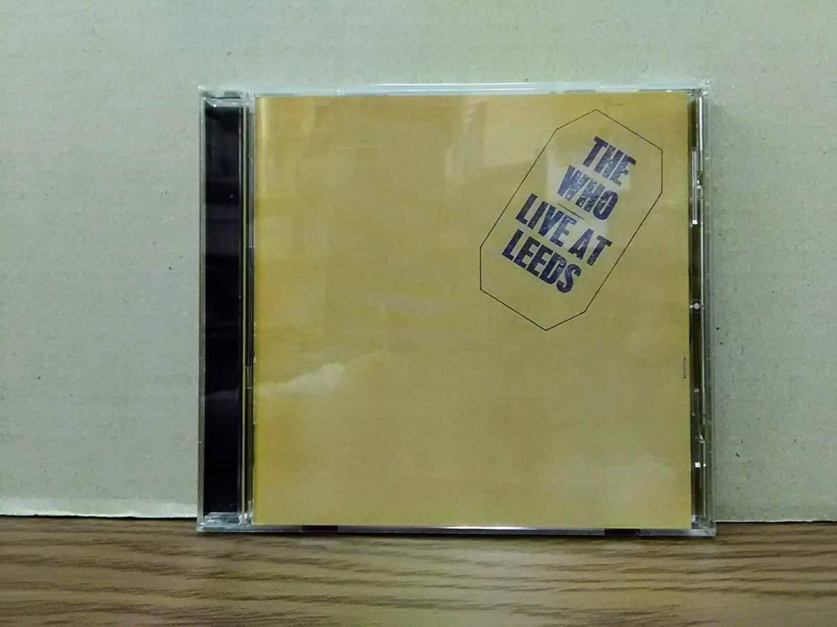ザ・フー THE WHO ライヴ・アット・リーズ~25周年エディション LIVE AT LEEDS 【SHM-CD】 09s20