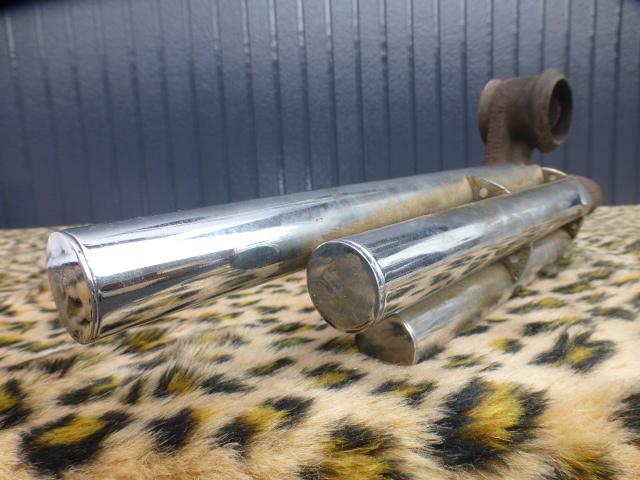 Auto Exhaust Horn Whistle 4パイプ ローライダー KUSTOM BOMB OG バリス HOTROD ホットロッド 旧車 フォード モデルA モデルT シボレー _画像1